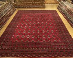 This Is The Main Pattern Of The Afghan People. Its Distinctive Shape  Represents The Foot Of An Elepphant. Another Important Quality Of These Rugs  Is Their ...